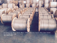 Cina ASTM A 475 Galvanized Guy Wire / Steel Cable Wire With Excellent Anti Rust Performance pabrik