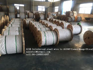 Cina ACSR Galvanized Wire Cable AS3606 BS 4565 , 0.5-5.0mm Gauge Steel Core Wire pabrik