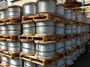Cina EHS Wire Zinc Coated Overhead Ground Wire / Overhead Earth Wire For Atomic Reactor Buildings pabrik