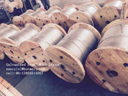 Cina ASTM A 475 EHS Galvanized Cable Wire D10, 7×3.05mm , ISO 9001-2008 Certificate pabrik