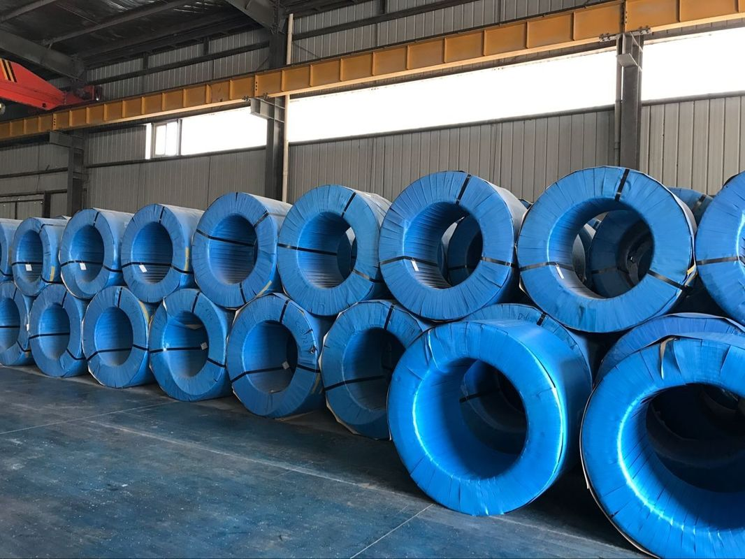 Abrasion Resistance Pc Strand Wire Firm Connection With Concrete For Crane Beams