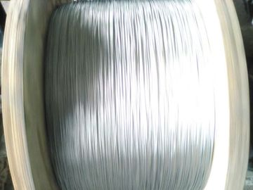 Smooth Surface Zinc Coated Steel Wire Stranded 7/0.33mm For Making Optical Cable