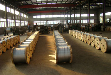 Cina High Carbon 7 16 Inch Galvanized Cable Wire , Strand Cable Wire For Overhead Guy Wire pabrik