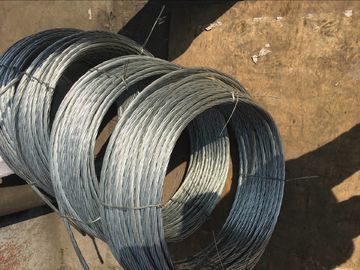 Grade700-1300 Galvanized Steel Wire Strand for stay wire 7/3.25mm 7/4.0mm