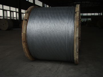 Cina Non - Alloy Overhead Ground Wire , EHS Class A 1 2 Galvanized Aircraft Cable pabrik